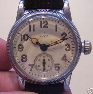 Elgin 554 WWII watch